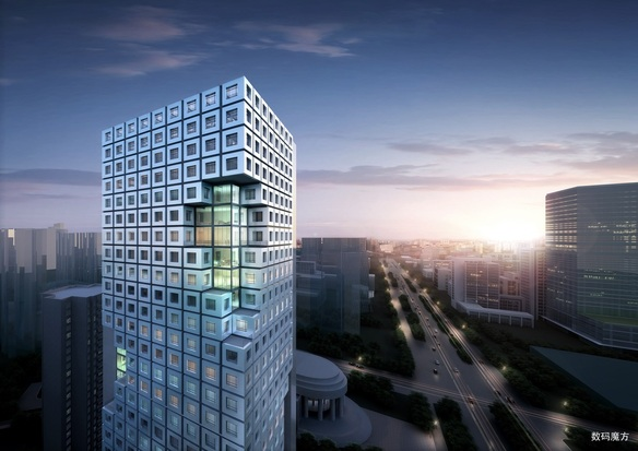 ShenZhen TV Cable Hub Office Tower Jasmine Zhou
